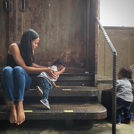 Zoe Saldana's Family Pictures on Instagram