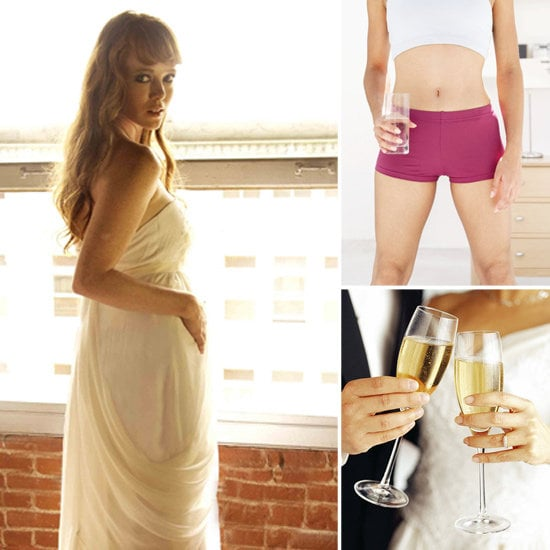 Lil's letting you know how to conceal your pregnancy until after the wedding.
