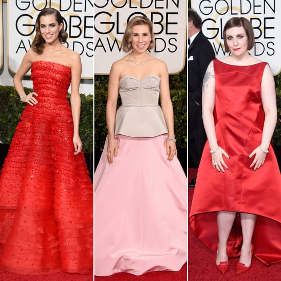 Girls Cast at the 2015 Golden Globes