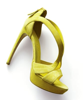 These Alexander McQueen yellow cutout sandals ($795) should be your Spring and Summer go-tos. Wear them with a printed or solid dress for a fancy look, or with your favorite denim on the weekends.