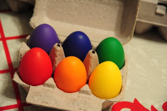 Homegrown Toys Eggs Sorting Toy ($14)