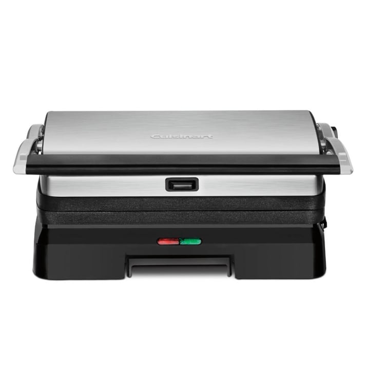 Cuisinart 3 in 1 grill and panini press jump start your - Cuisinart griddler grill panini press ...