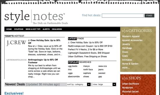 Fab Site: StyleNotes.com