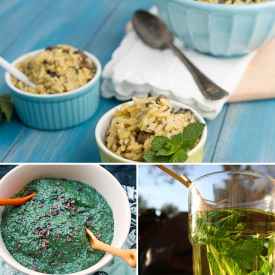 Healthy Mint Recipes For Weight Loss POPSUGAR Fitness