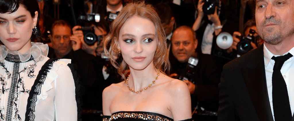 Lily-Rose Depp Was a Modern-Day Jasmine From Aladdin on the Cannes Red Carpet