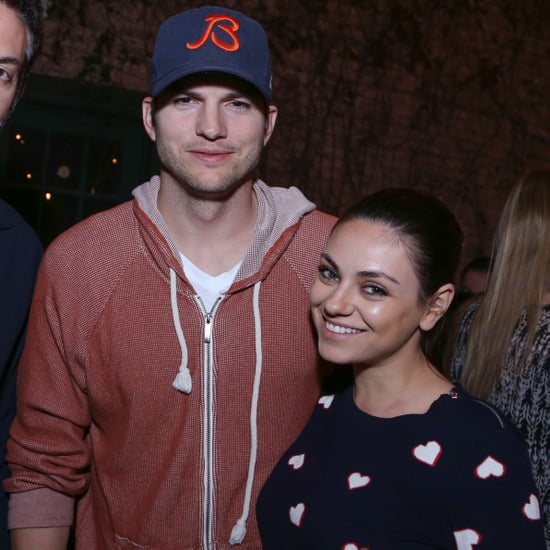 Mila and Ashton Have a Parents' Night Out Party at SXSW
