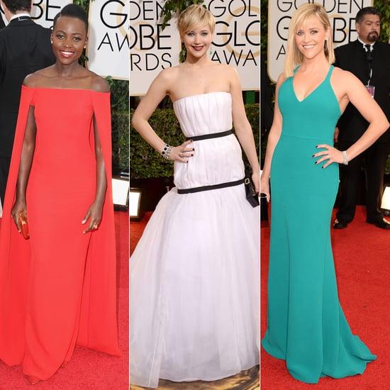 Golden Globes 2014 Red Carpet Dresses