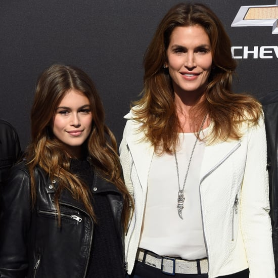Cindy Crawford and Kaia Jordan Gerber Pictures