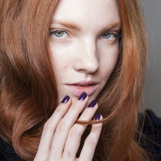 Dark Nail Polish Trend Fall 2014 | Paris Fashion Week