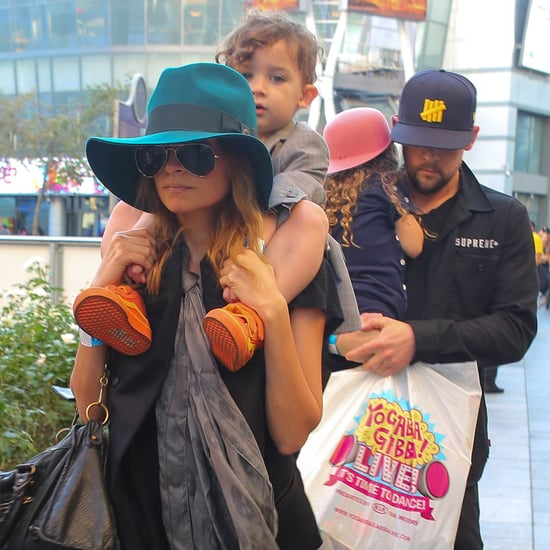 Nicole Richie and Halle Berry Take Kids to Yo Gabba Gabba!