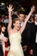 Jennifer Lawrence got animated for the premiere of The Hunger Games: Catching Fire at the eighth annual Rome Film Festival in Italy on Thursday.