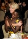 Emma Thompson gave 12 Years a Slave's Lupita Nyong'o a huge hug at the AFI Awards lunch on Friday.