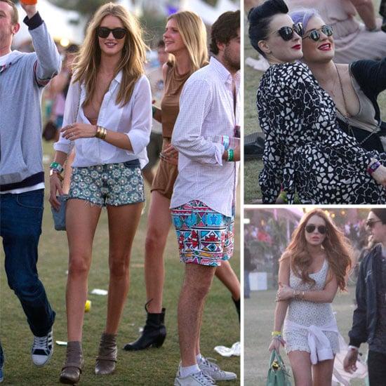 Coachella Weekend 2: Celebs Flaunt Their Festival Fashion!