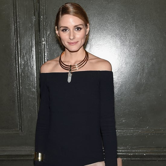 Olivia Palermo Wearing Tibi Dress and Pants