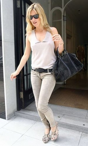Pictures of Kate Moss With Louis Vuitton Duffel Bag