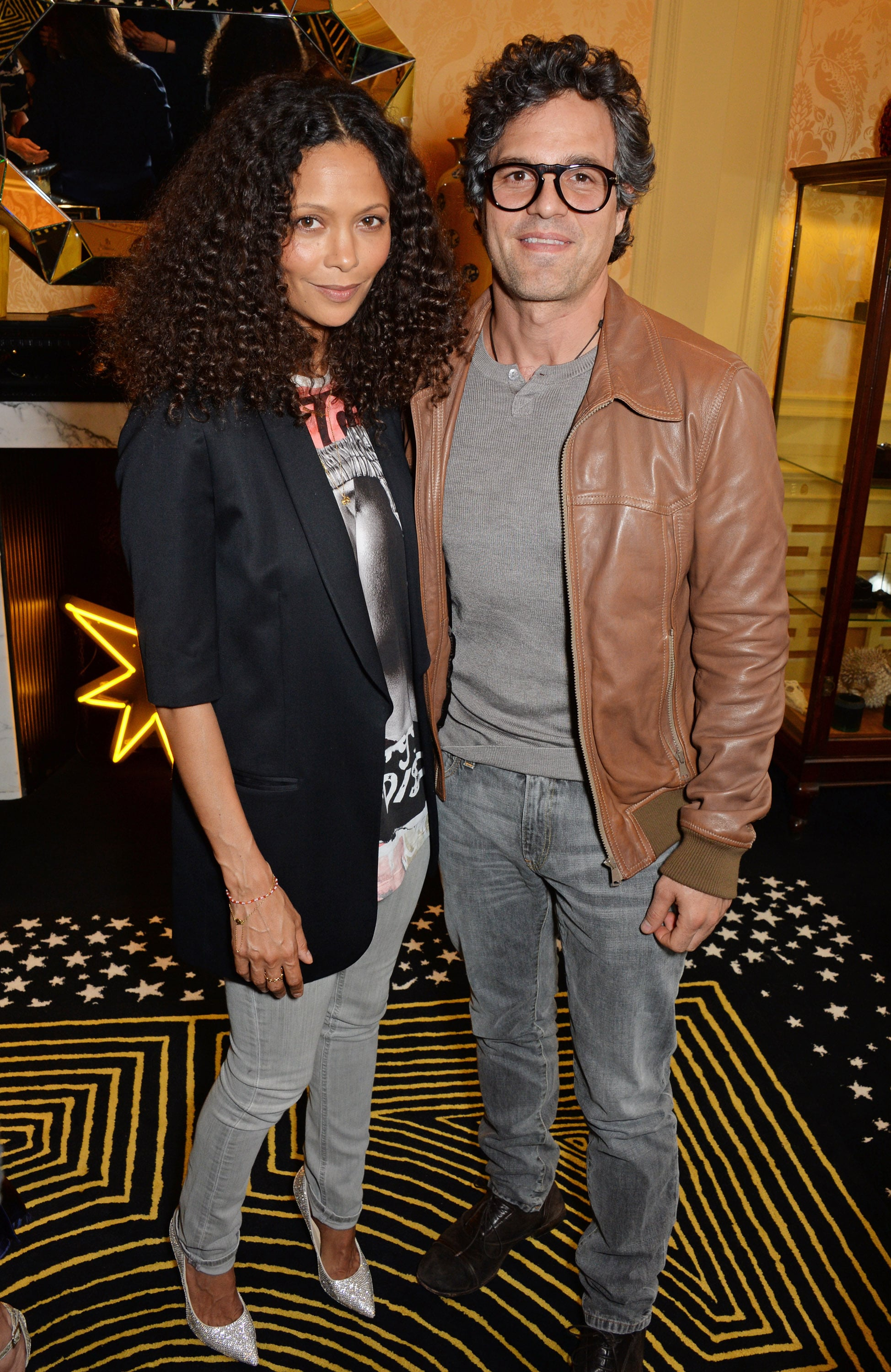 Thandie Newton and Mark Ruffalo