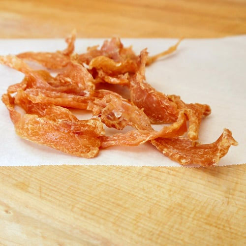 Homemade Chicken Jerky For Dogs