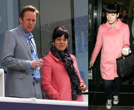 Pictures of Lily Allen and Sam Cooper