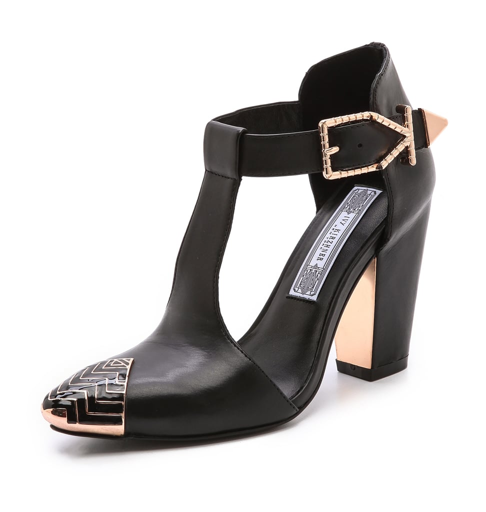 Ivy Kirzhner Caliber T Strap Pumps ($333, originally $475)