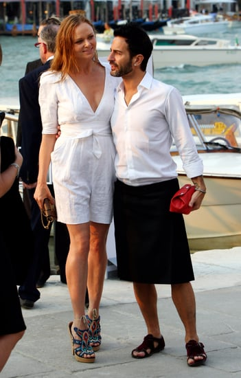 Venice Biennale Overflowing with Fashion Figures and Their Families