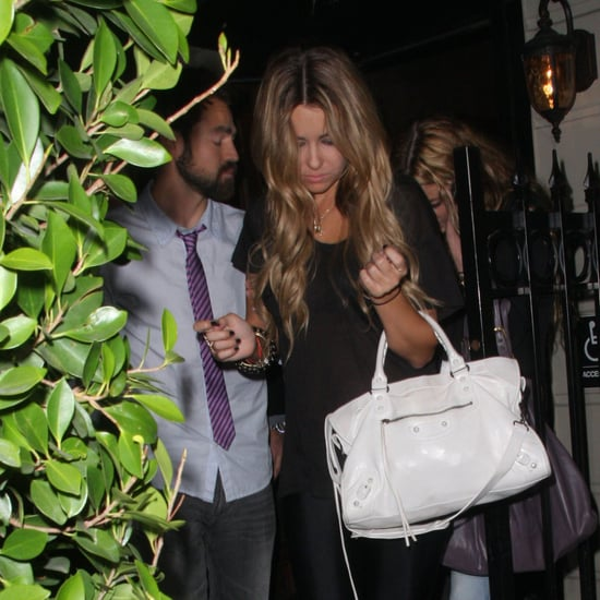Lauren Conrad and Kyle Howard Leave Crown Bar