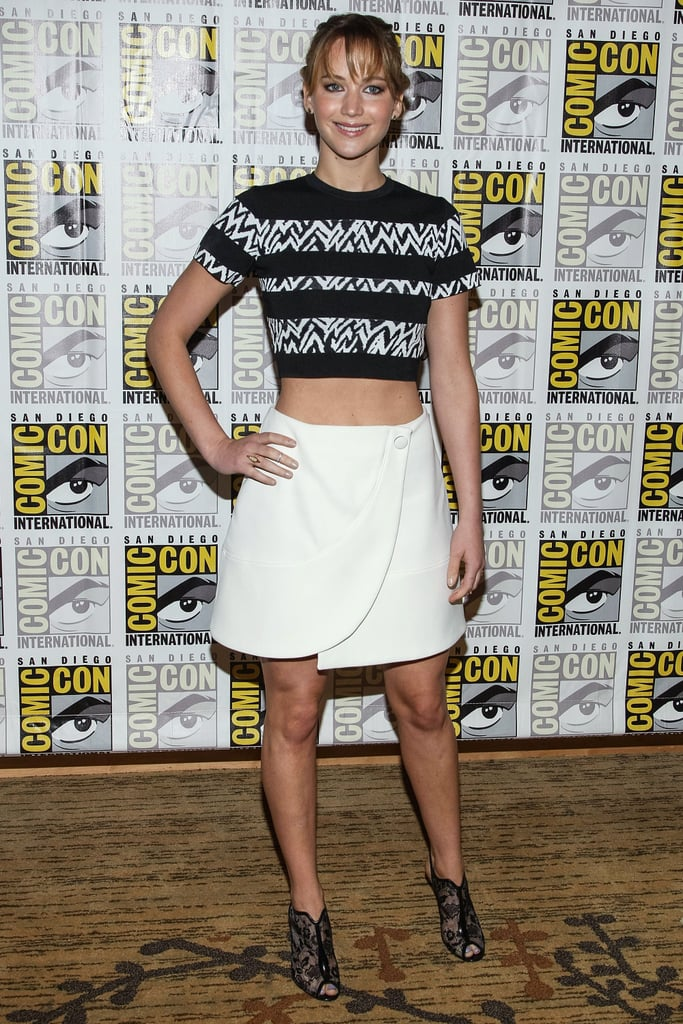 Jennifer Lawrence Links Up With Nicholas Hoult at Comic-Con!