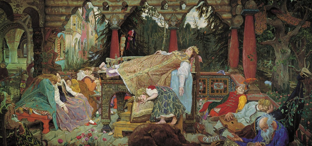 Sleeping Princess, 1848-1926