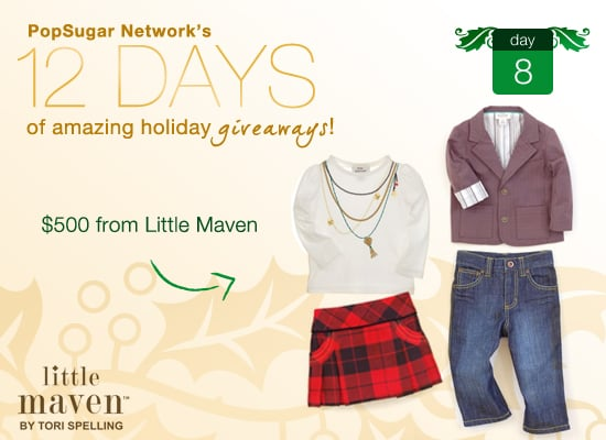 Win $500 From Tori Spelling's little maven Line!