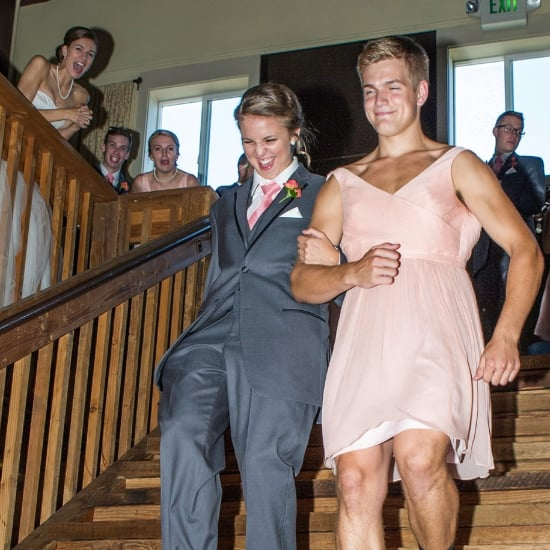 Bridesmaid and Groomsman Clothing Swap Picture