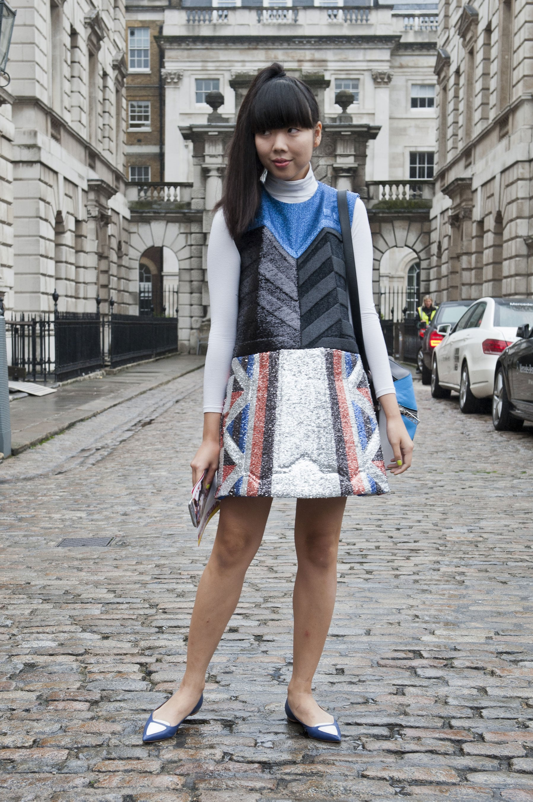 Susie Bubble said it all with her dress.