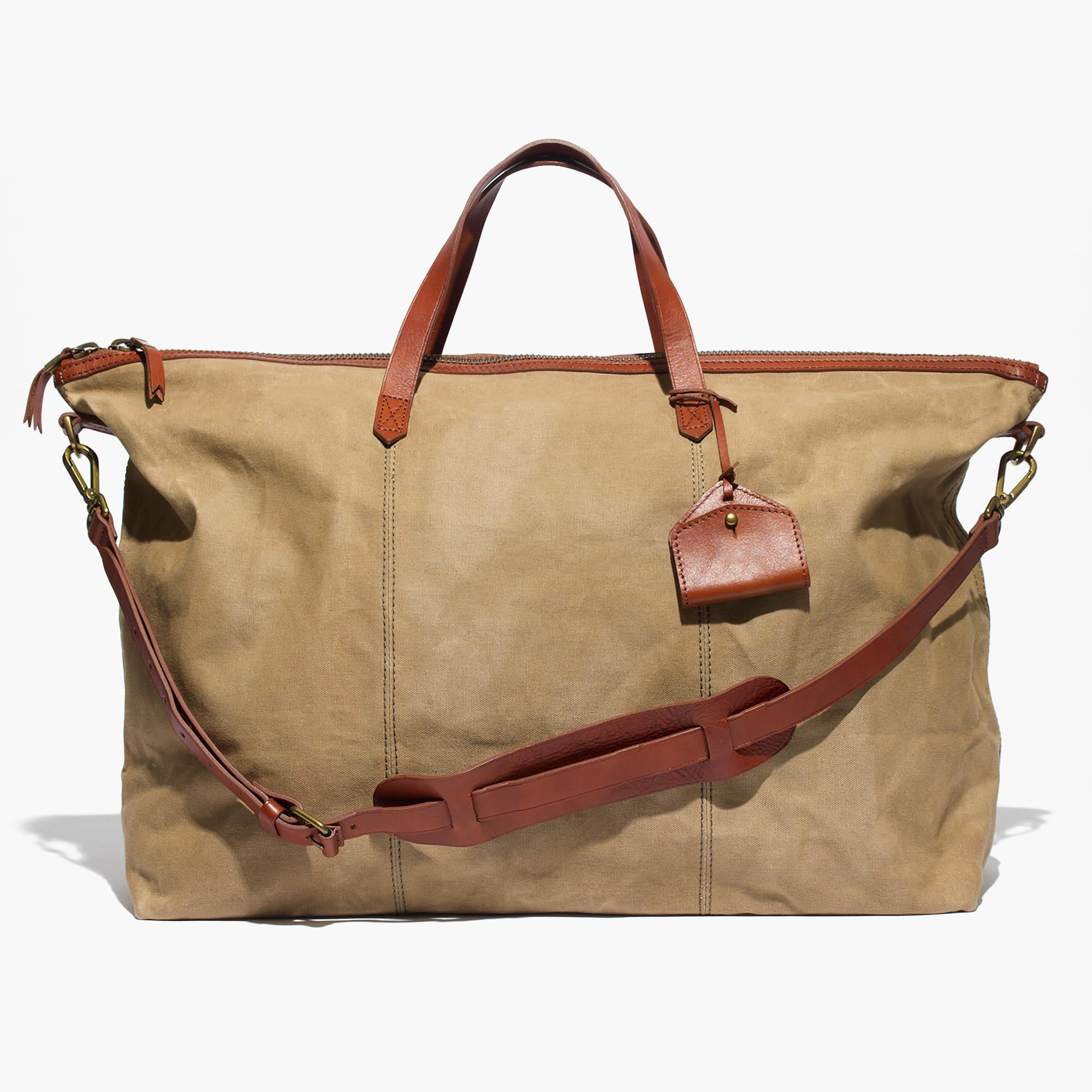 Madewell Transport Weekender in Canvas ($148)