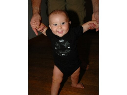 Adorable iPod Baby Tees and Jumpers by iPop My Baby