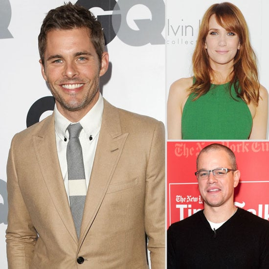 James Marsden Heads to Walk of Shame and the Week's Other Big Casting News