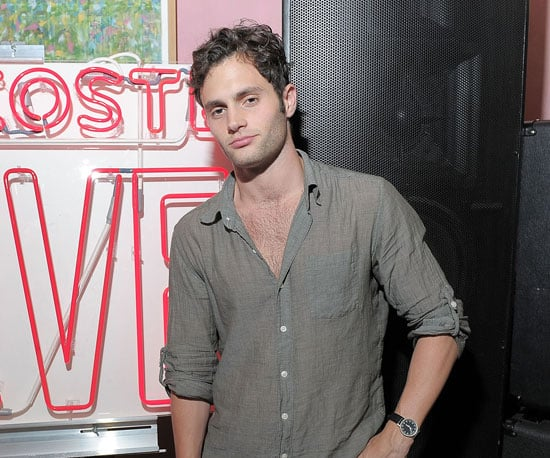 Slide Picture of Penn Badgley in NYC