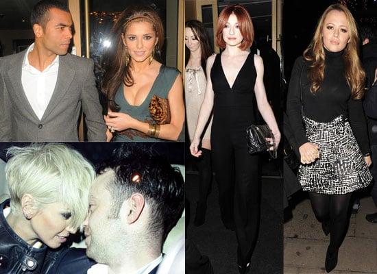 Photos Of Girls Aloud - Cheryl and Ashley Cole Nicola Roberts Sarah Harding - at Nobu. Plus The Loving Kind Video