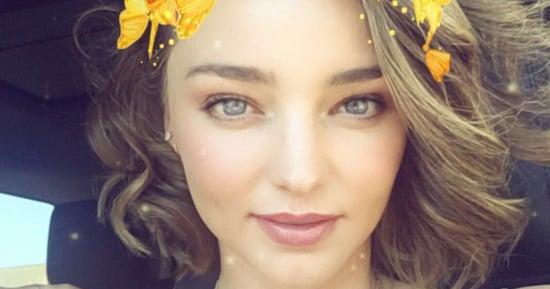 Miranda Kerr Flashes Her Giant Engagement Ring on Snapchat