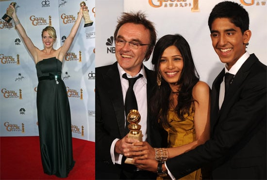 Full List Of Winners and Photos From 2009 Golden Globe Awards Feat. Kate Winslet, Slumdog Millionaire, Dev Patel, Danny Boyle...