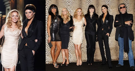 The Spice Girls in Milan For Roberto Cavalli