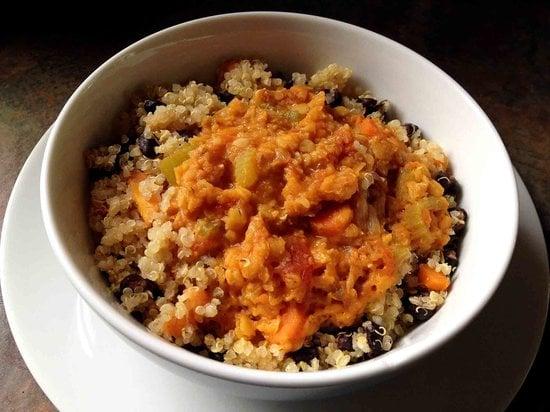 Cumin-Spiced Lentil and Quinoa Stew