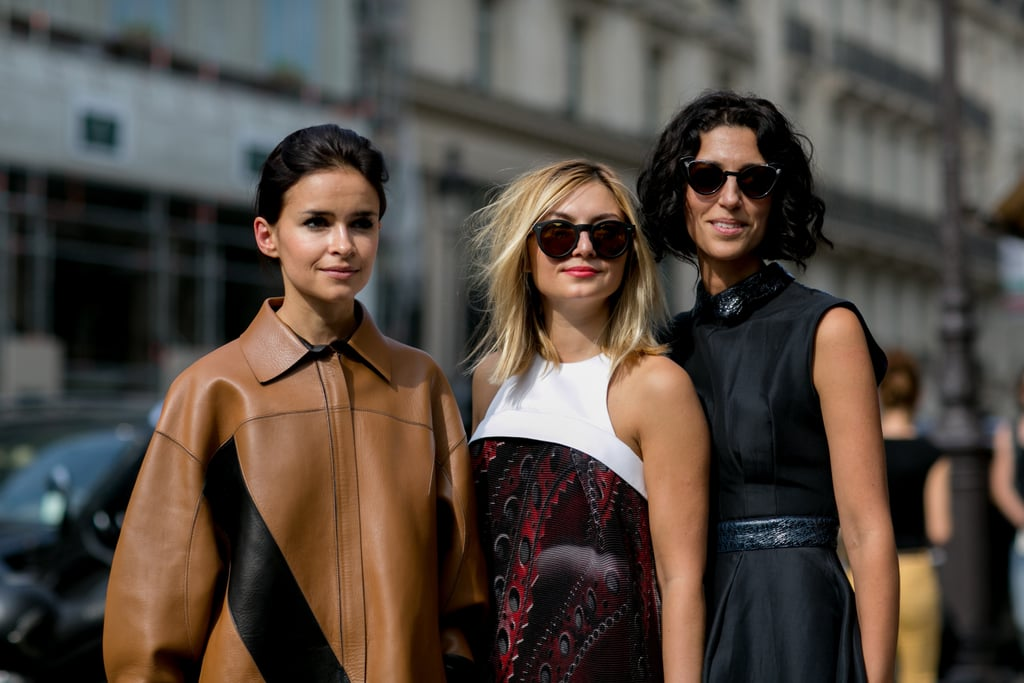 The faces of Fashion Week.