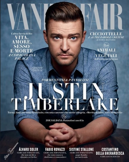 Justin Timberlake invokes Britney Spears while discussing Cry Me a River in Vanity Fair Italia to promote Trolls