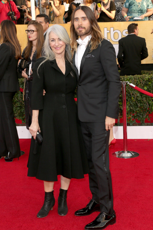 Jared Leto and Constance Leto