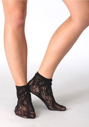 Achieve instant femme with these Delia's Lace Ankle Socks ($6).