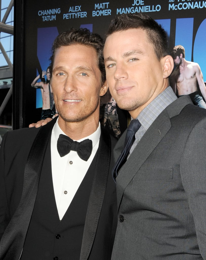 Matthew McConaughey and Channing Tatum