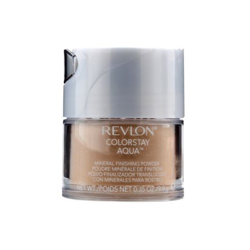 With brands like Bare Minerals still fueling the mineral makeup craze, this Revlon ColorStay Aqua Mineral Finishing Powder ($6) is one of our top picks. The light finish of a powder keeps you matte longer, and its reasonable price makes it even better.