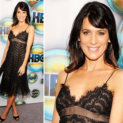Perrey Reeves at Golden Globes Afterparty 2012