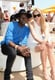 Theophilus London at the sixth annual Veuve Clicquot Polo Classic in Jersey City, NJ.