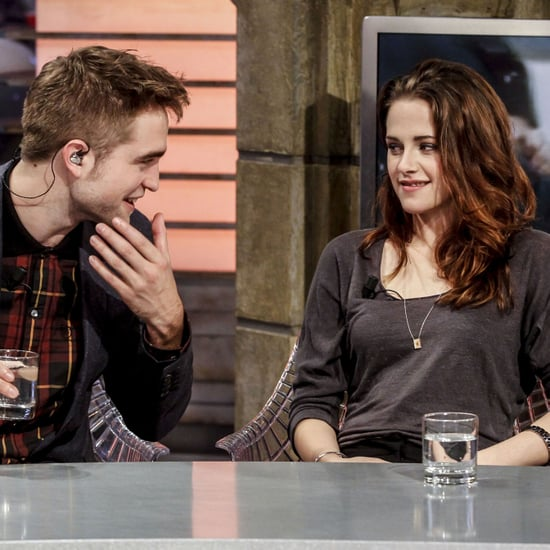 Kristen Stewart and Robert Pattinson on El Hormiguero