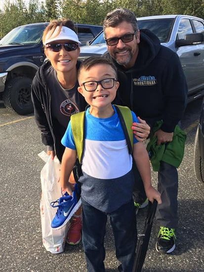 Sarah Palin's Son Trig, 8, Has His First Day of School: See the Adorable Photos!