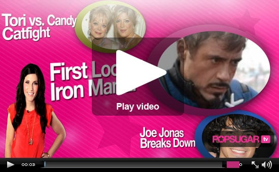 Video Of Iron Man 2 At 2009 Comic-Con, Joe Jonas Crying On Stage After Breaking Up With Camilla Belle